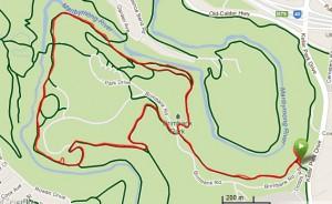 Brimbank Park - 10km Circuit