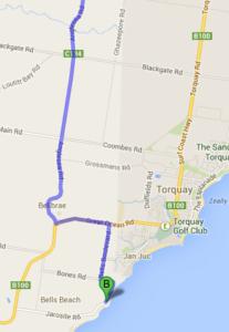 Getting to Bells Beach via the Geelong bypass