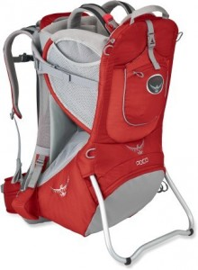 Poco Premium Baby Carrier Backpack in Red and Grey