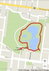 Newport Lakes map
