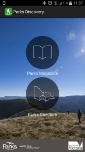 Parks Victoria app - Parks Discovery