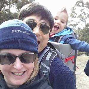 The Hiking Family