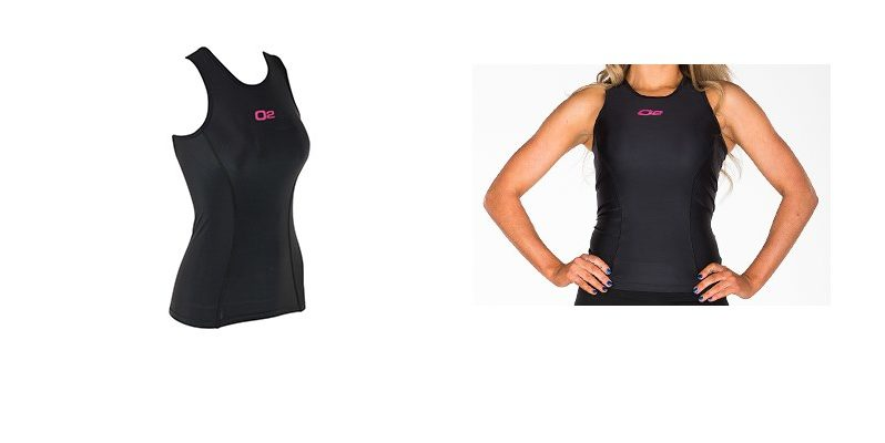 O2Fit Women's Compression Singlet