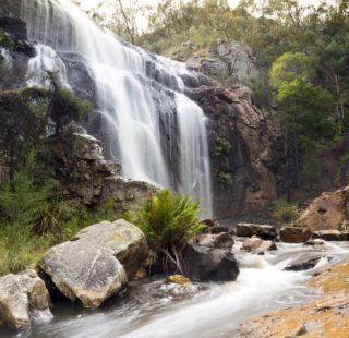 MacKenzie Falls waterfall in the Grampians region of Victoria, Australia