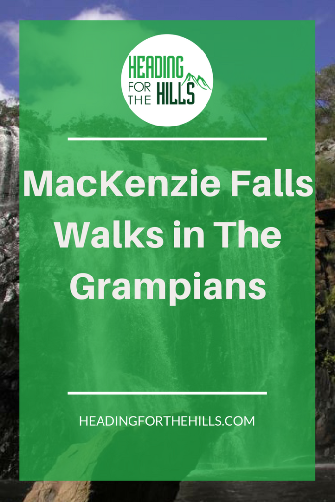Mackenzie Falls, The Grampians, Australia - two walks