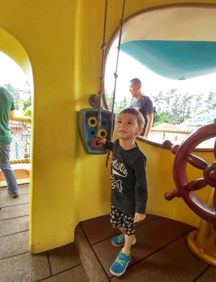 Donald Duck's Boat at Tokyo Disneyland