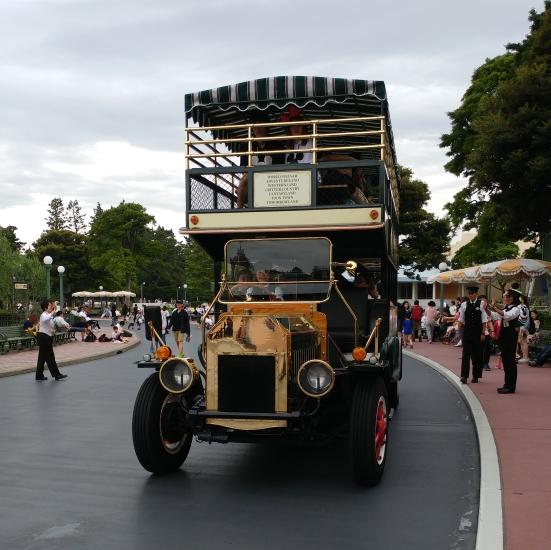 The Omnibus at Tokyo Disneyland