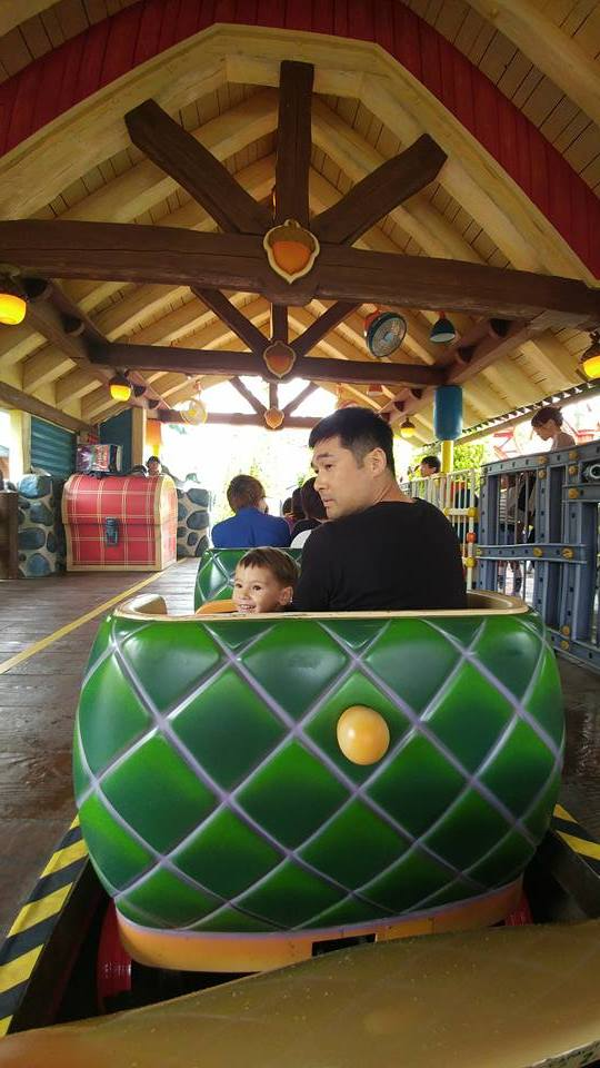 Tokyo Disneyland Go Gadget Rollercoaster