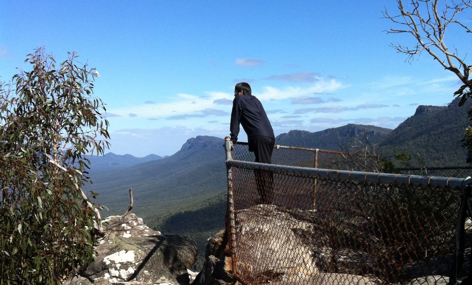 The Pinnacle Walk - Looking out across the magnificent Grampians
