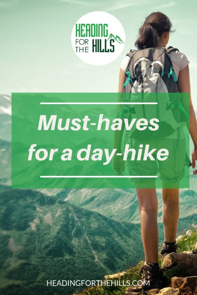 Must haves for a day hike