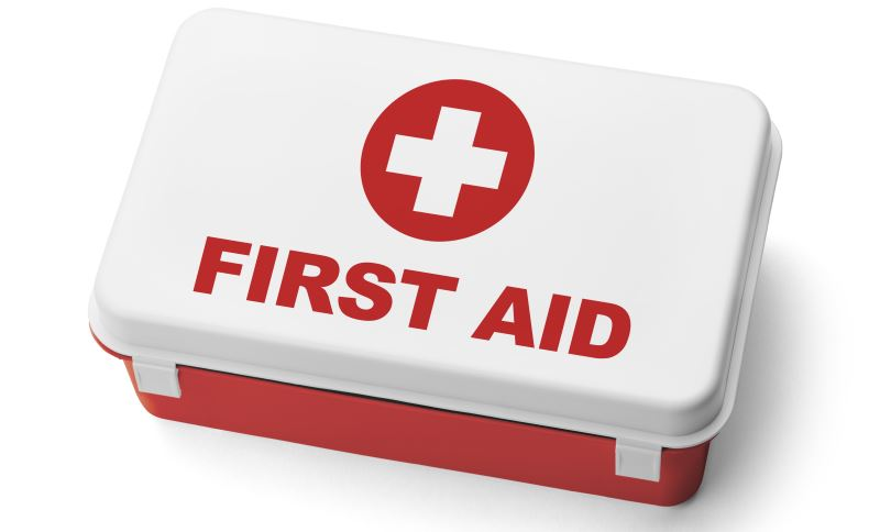First Aid kit for hiking