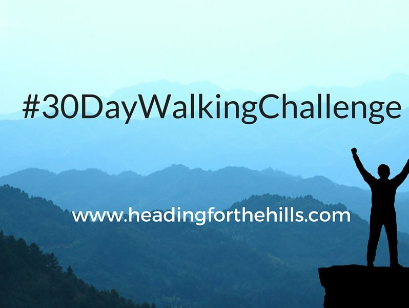 30 days of walking during the 30 Day Walking Challenge
