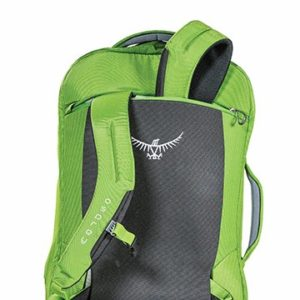 Osprey Porter 46 - Details of the harness stow