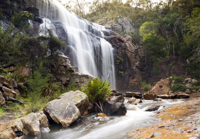 MacKenzie Falls waterfall in the Grampians region of Victoria, Australia
