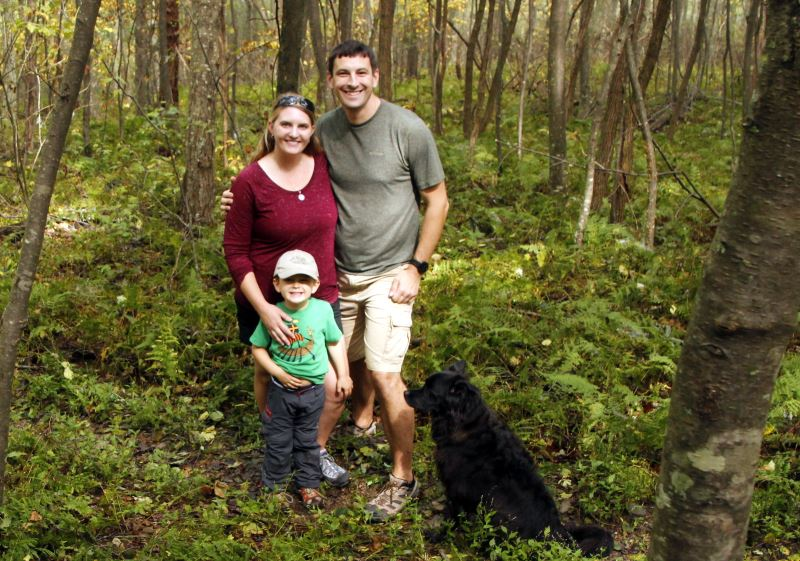 Chelsea and her family, from Pack More Into Life
